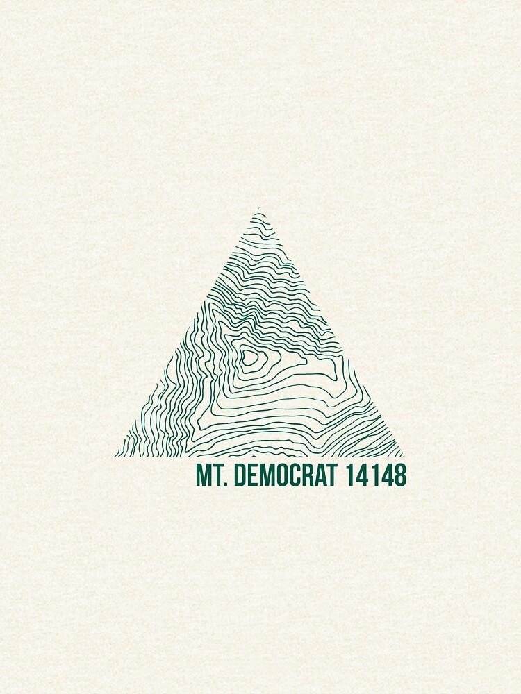 Mount Demokrat Topo von januarybegan