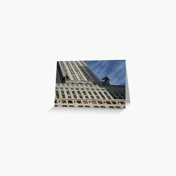 New York Skyline New York Greetings Card Chrysler Building New York Art New York Architecture New York Buildings