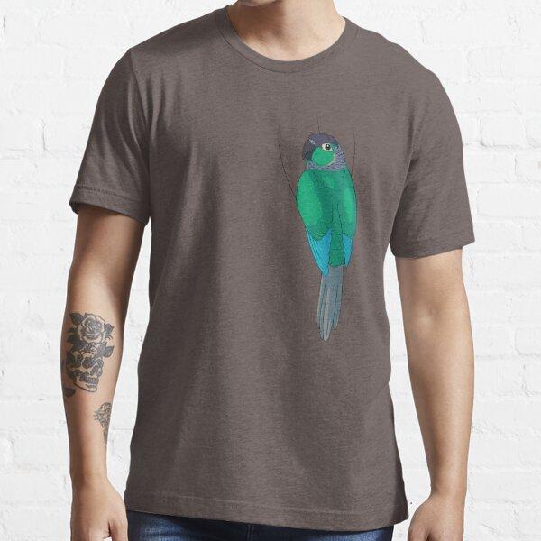 Turquoise Green-Cheek Conure Essential T-Shirt