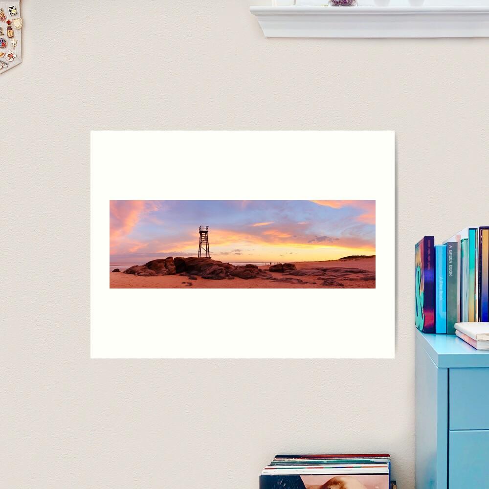 Redhead Beach Sunset, Newcastle, New South Wales, Australia Art Print