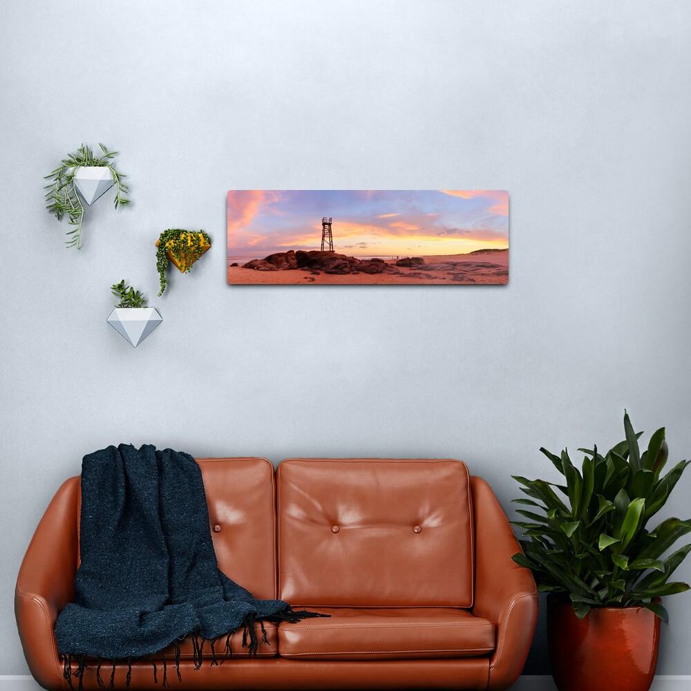 Redhead Beach Sunset, Newcastle, New South Wales, Australia Metal Print