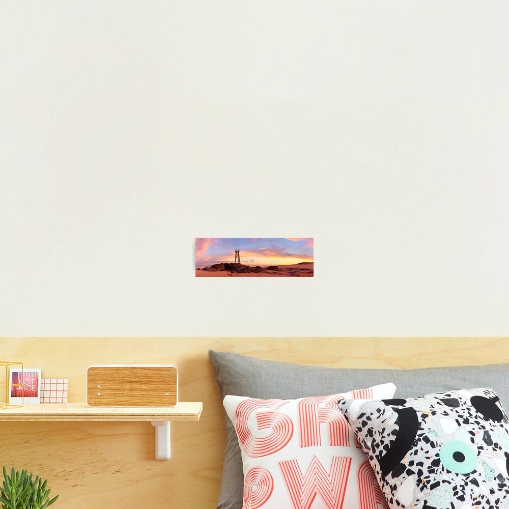 Redhead Beach Sunset, Newcastle, New South Wales, Australia Photographic Print