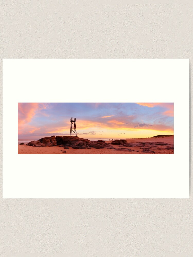 Alternate view of Redhead Beach Sunset, Newcastle, New South Wales, Australia Art Print