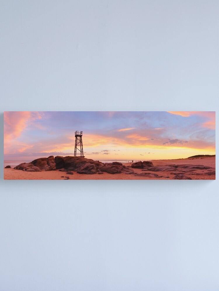 Alternate view of Redhead Beach Sunset, Newcastle, New South Wales, Australia Canvas Print