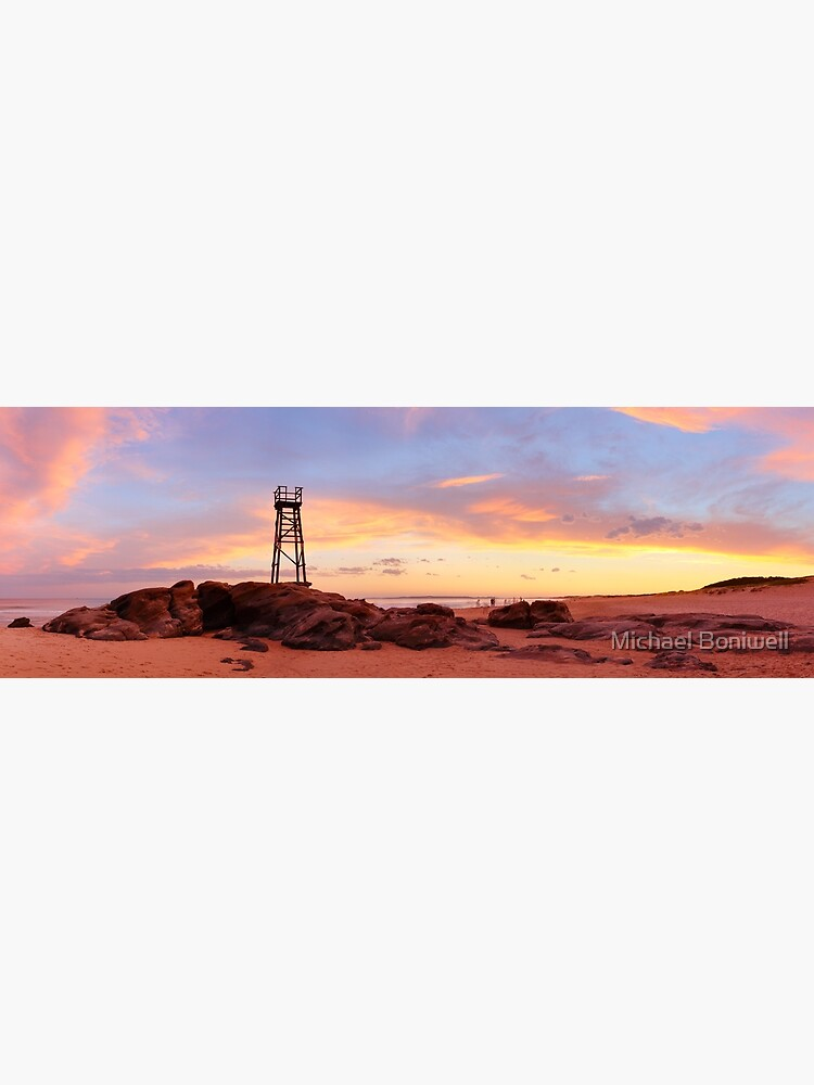 Redhead Beach Sunset, Newcastle, New South Wales, Australia by Chockstone