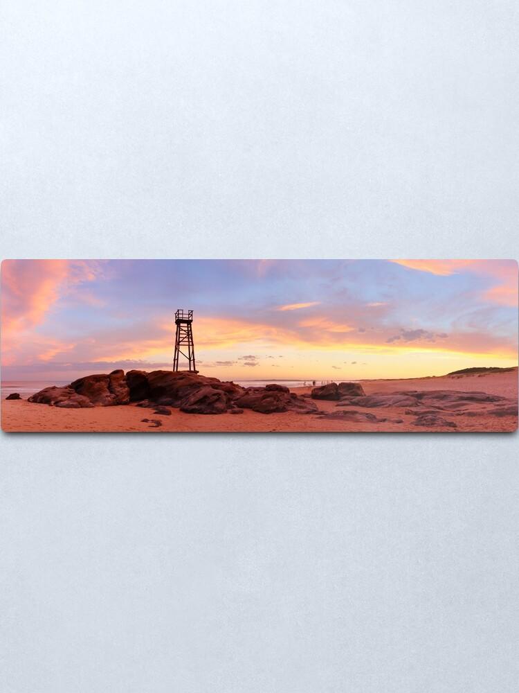 Alternate view of Redhead Beach Sunset, Newcastle, New South Wales, Australia Metal Print