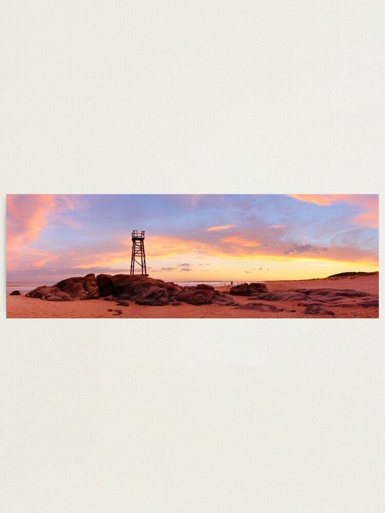 Alternate view of Redhead Beach Sunset, Newcastle, New South Wales, Australia Photographic Print