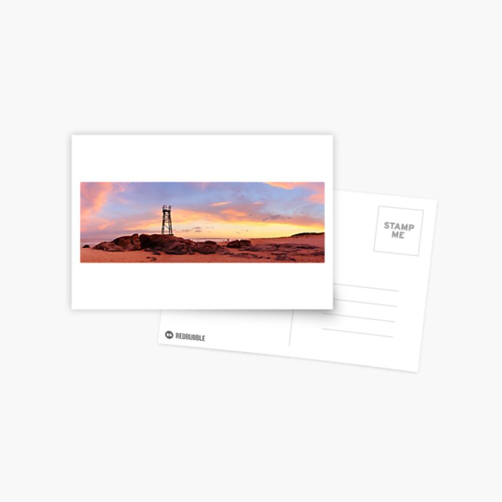 Redhead Beach Sunset, Newcastle, New South Wales, Australia Postcard