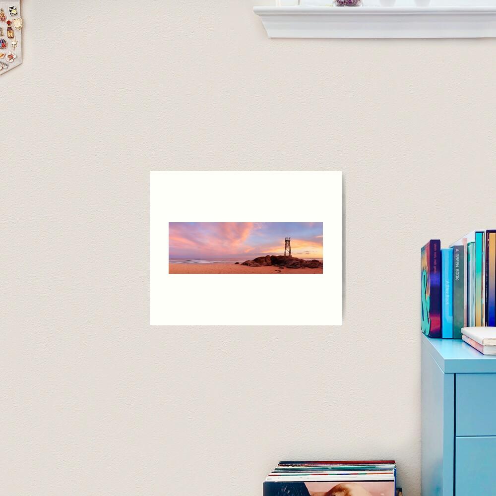 Day's End, Redhead Beach, Newcastle, New South Wales, Australia Art Print