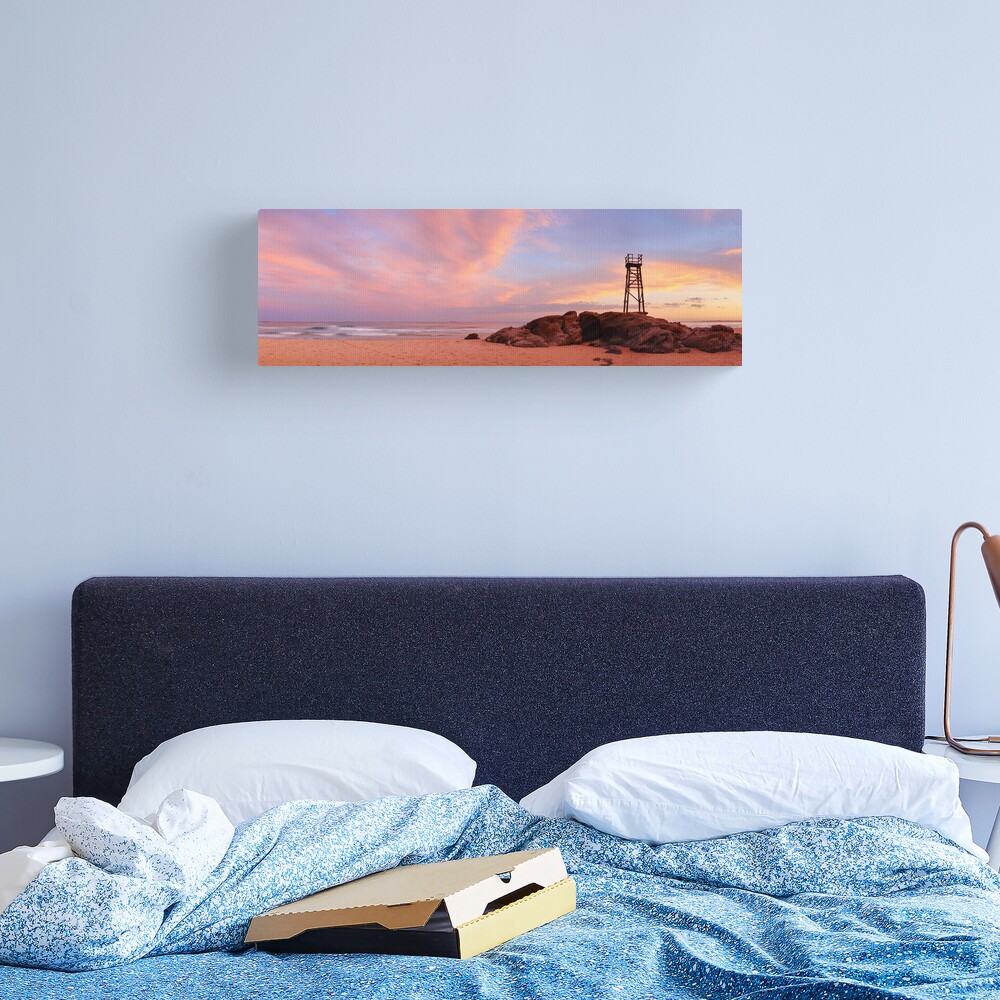 Day's End, Redhead Beach, Newcastle, New South Wales, Australia Canvas Print