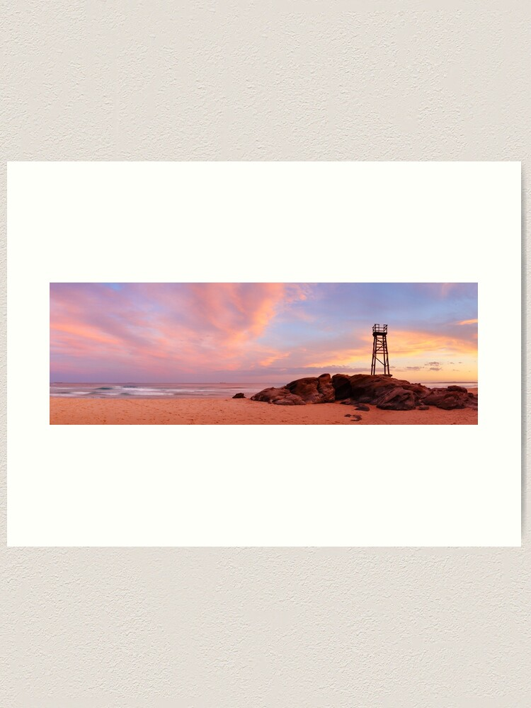 Alternate view of Day's End, Redhead Beach, Newcastle, New South Wales, Australia Art Print