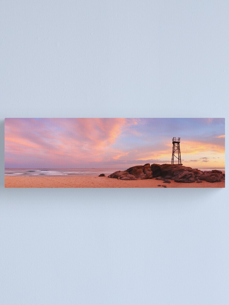 Alternate view of Day's End, Redhead Beach, Newcastle, New South Wales, Australia Canvas Print