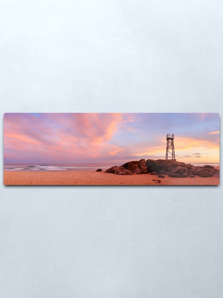 Alternate view of Day's End, Redhead Beach, Newcastle, New South Wales, Australia Metal Print