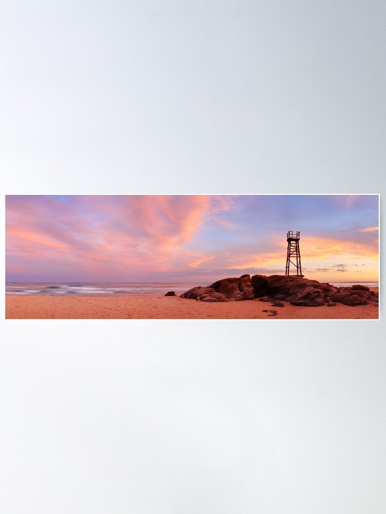Alternate view of Day's End, Redhead Beach, Newcastle, New South Wales, Australia Poster
