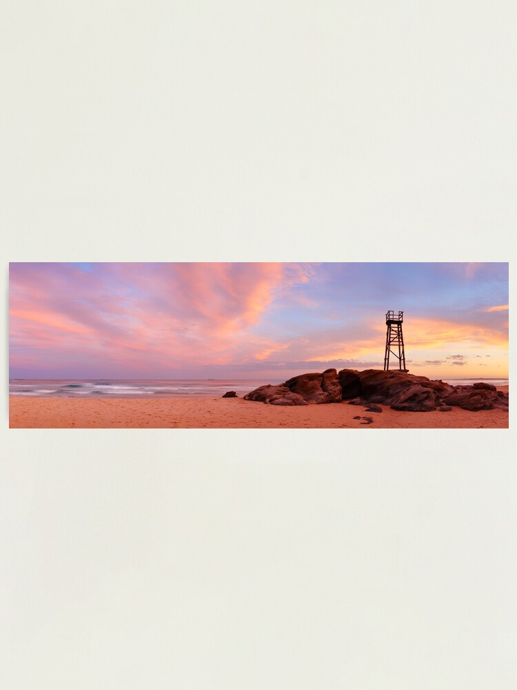 Alternate view of Day's End, Redhead Beach, Newcastle, New South Wales, Australia Photographic Print