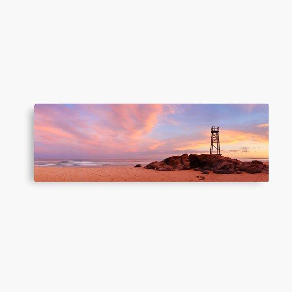 Day's End, Redhead Beach, Newcastle, New South Wales, Australia Canvas Print