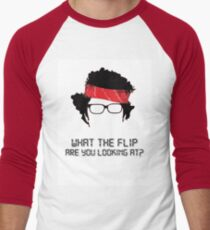 What the flip are you looking at? T-Shirt