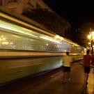 Tunis by night by Lukasz Godlewski