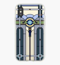 Glasmalerei Art Deco iPhone-Hülle & Cover