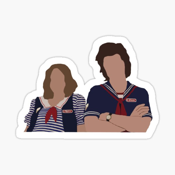 Steve and Robin Sticker