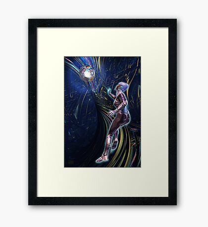 Warden of the Rainbow Forest Framed Print
