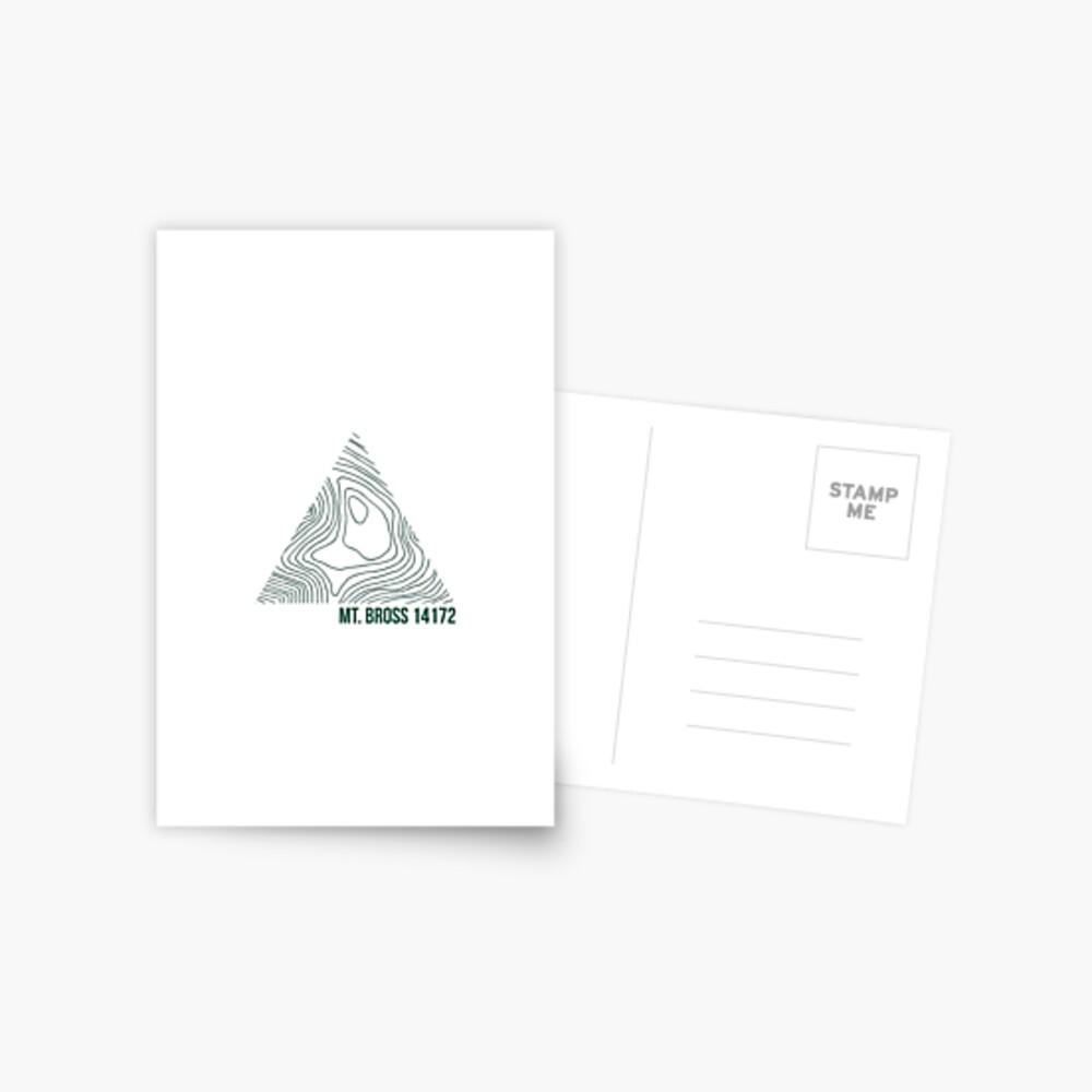 Berg Bross Postkarte