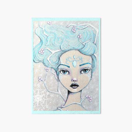 Ice Queen Art Board Print