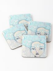 Ice Queen Coasters