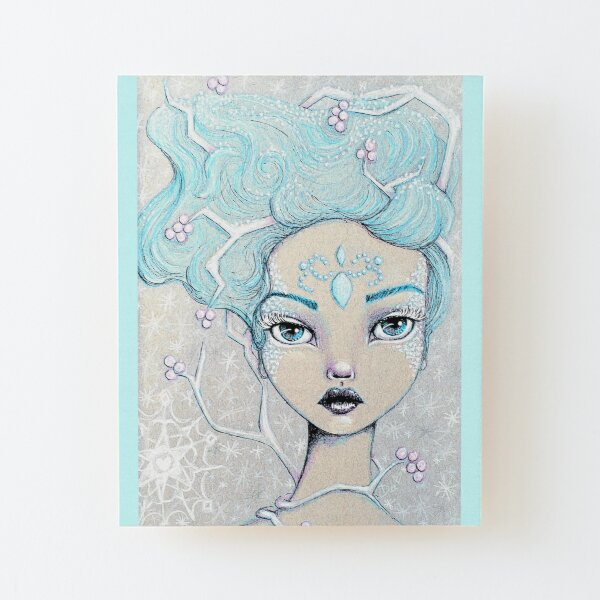 Ice Queen Wood Mounted Print