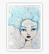 Ice Queen Glossy Sticker