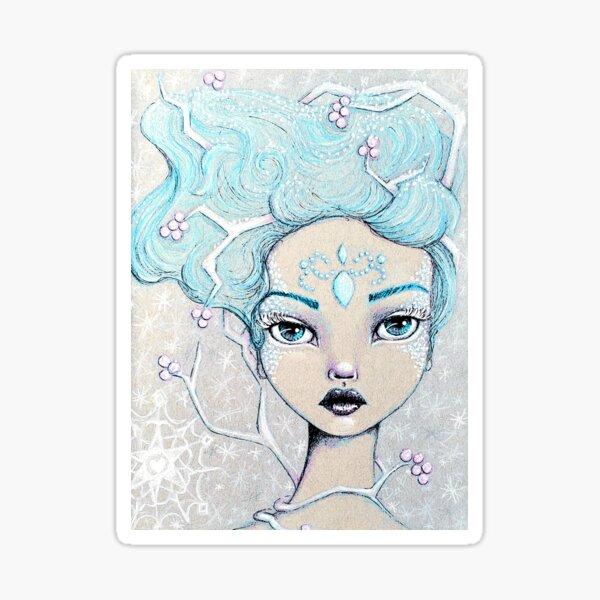Ice Queen Sticker