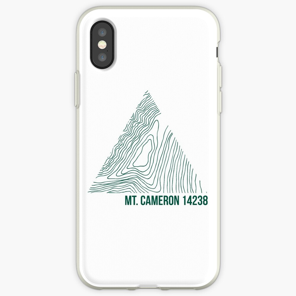 Berg Cameron Topo iPhone-Hülle & Cover