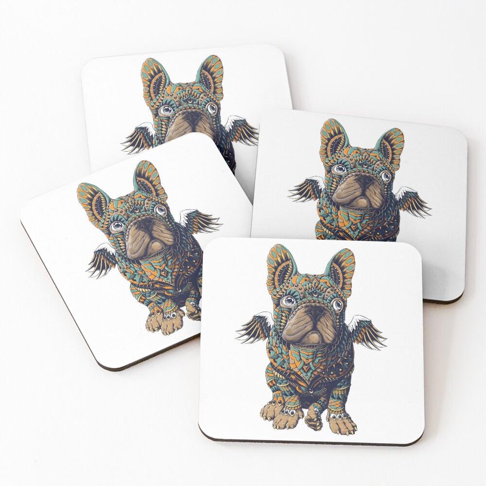 Frenchie Coasters (Set of 4)