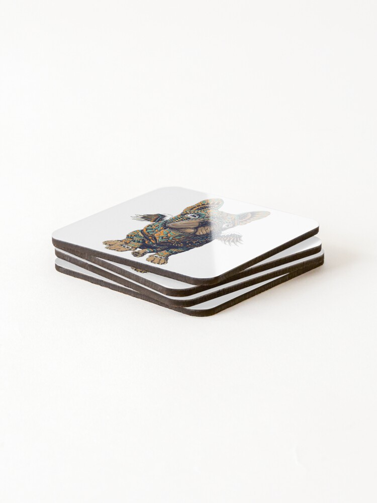 Alternate view of Frenchie Coasters (Set of 4)