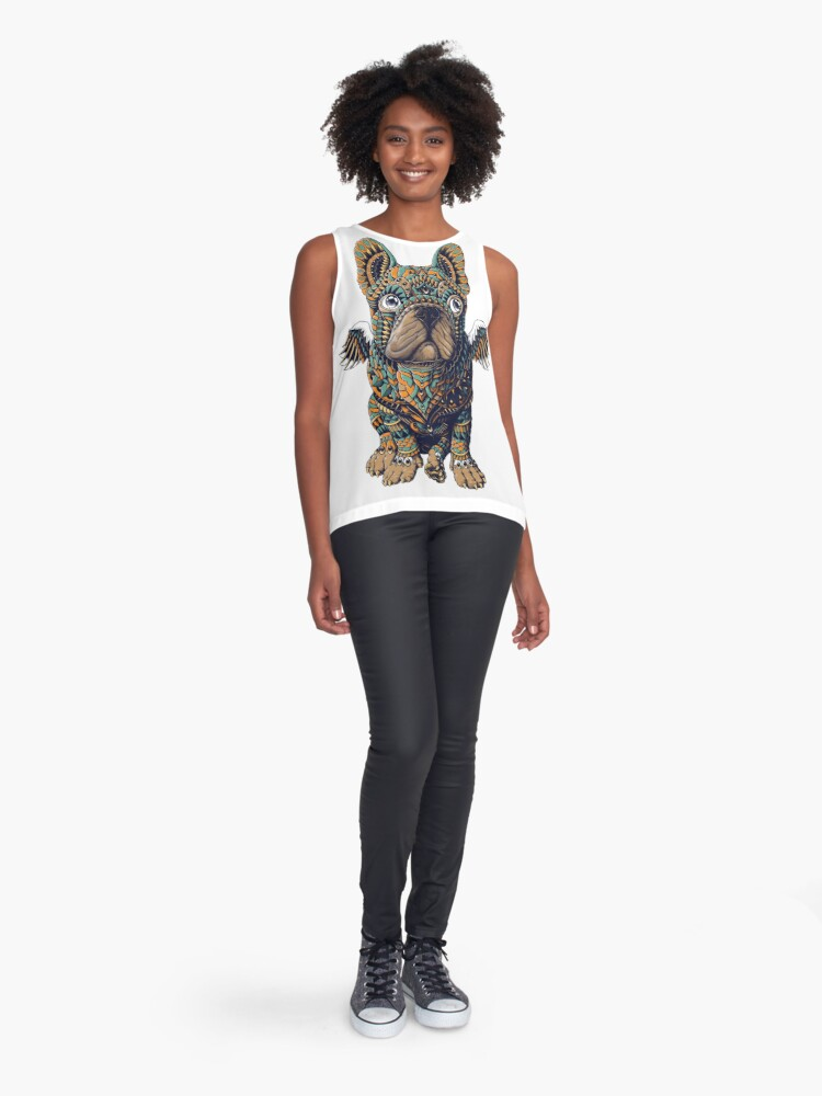 Alternate view of Frenchie Sleeveless Top