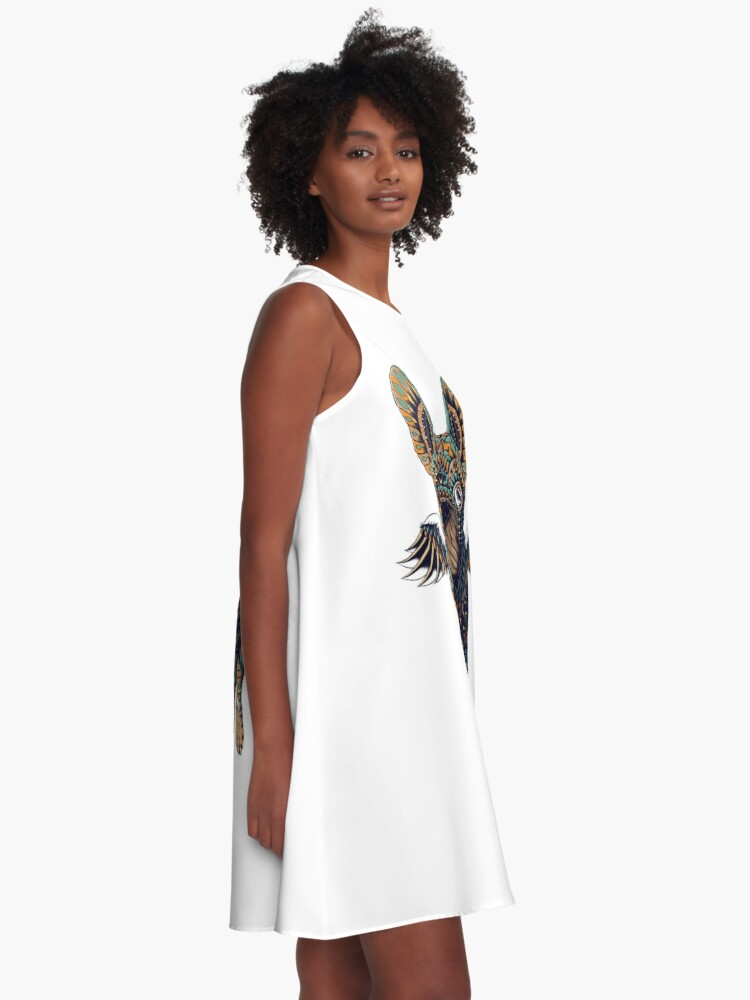 Alternate view of Frenchie A-Line Dress
