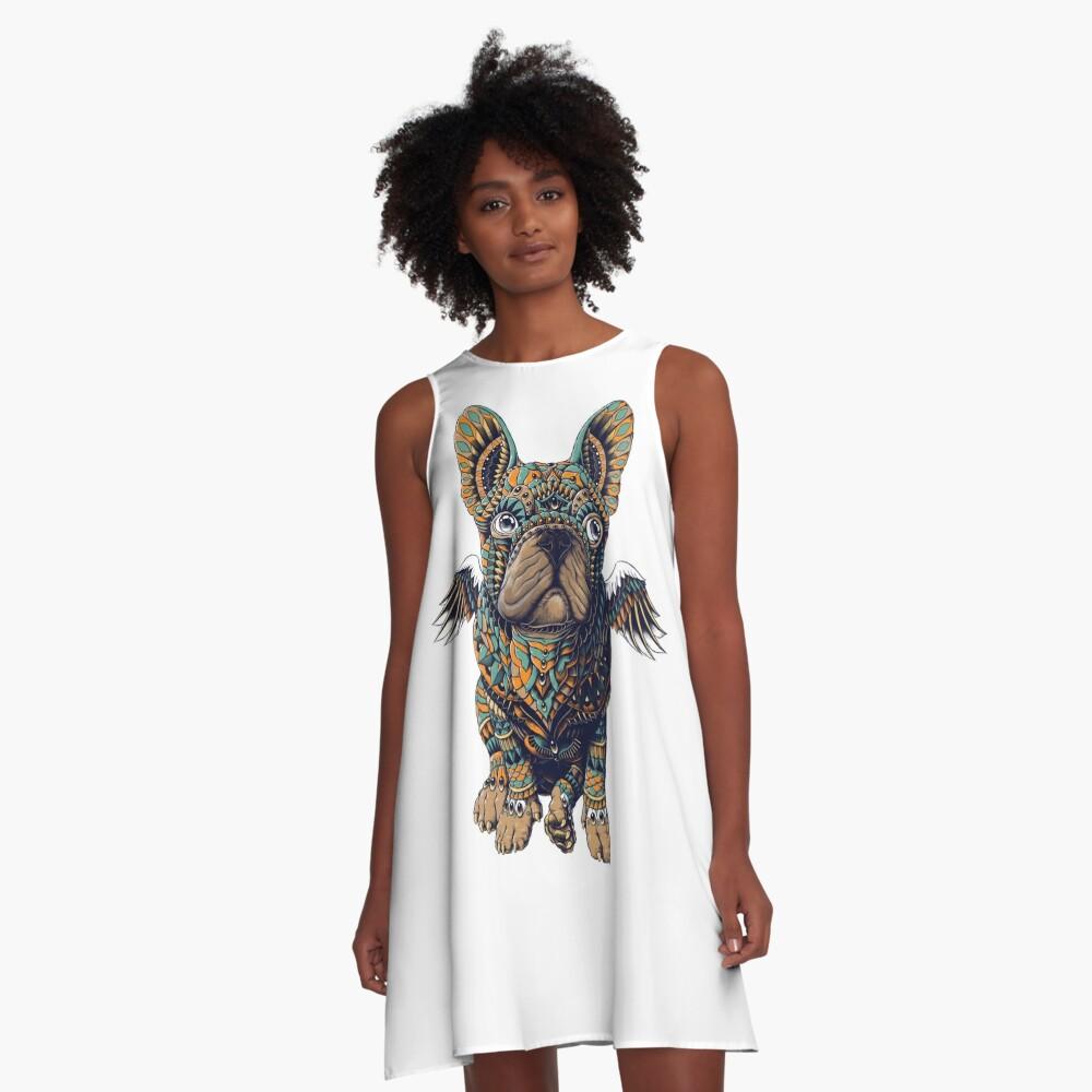 Frenchie A-Line Dress