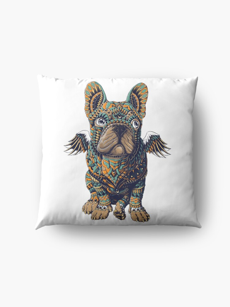 Alternate view of Frenchie Floor Pillow