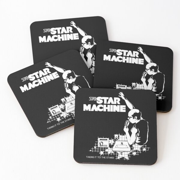 Superstar Machine Coasters (Set of 4)