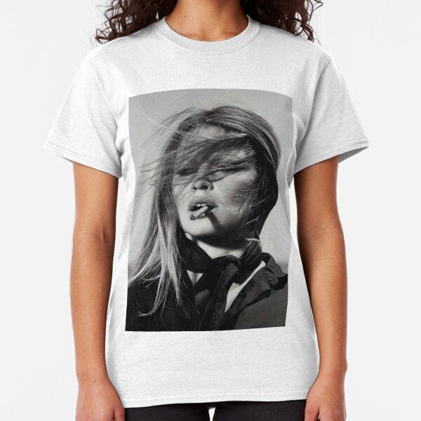 Brigitte Bardot Smoking Classic T-Shirt