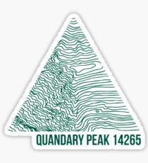 Quandary Peak Sticker