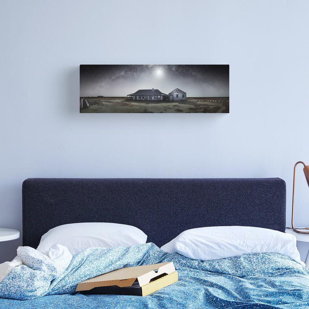 Moonrise, One Tree Hotel, Hay, New South Wales, Australia Canvas Print
