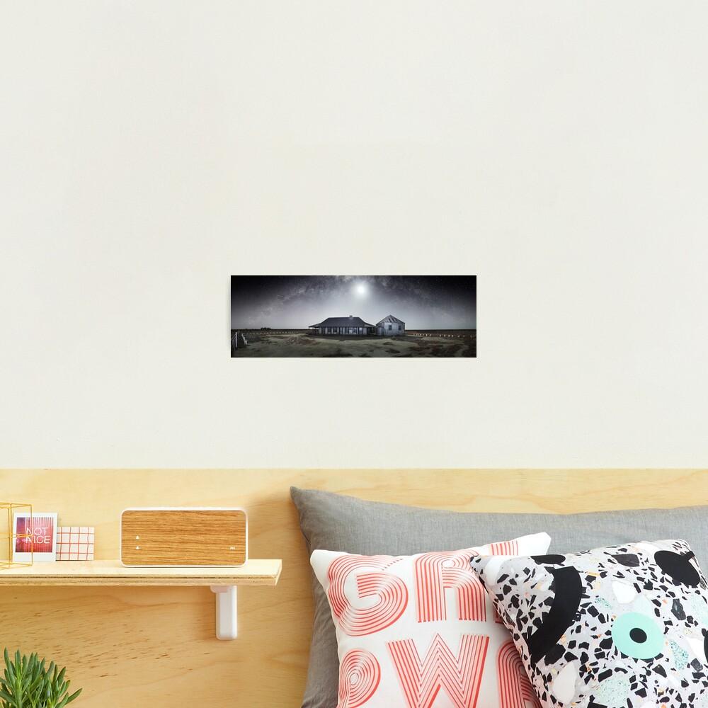 Moonrise, One Tree Hotel, Hay, New South Wales, Australia Photographic Print