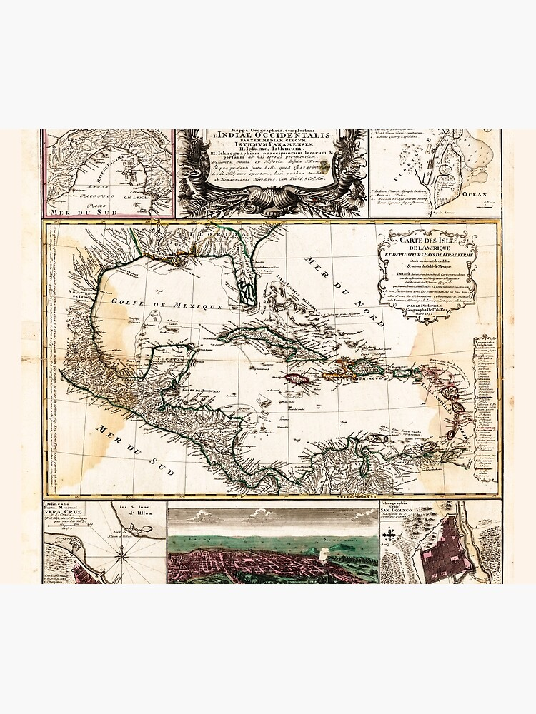 Map of the Caribbean (1781) by allhistory