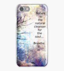 Natural Cleanser iPhone Case/Skin