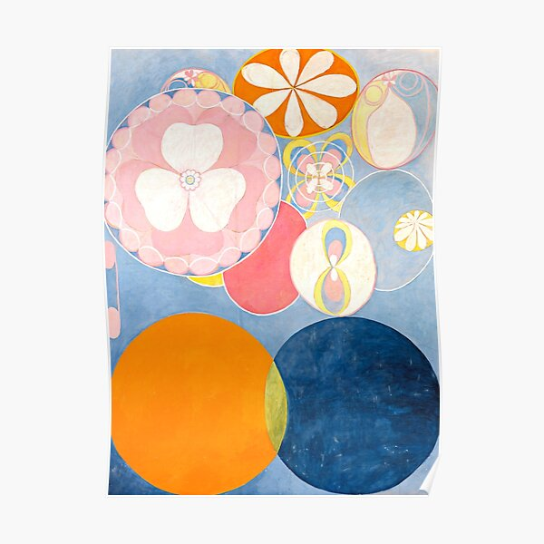 "Hilma af Klint ""The Ten Largest, No. 02, Childhood, Group IV"" Poster"
