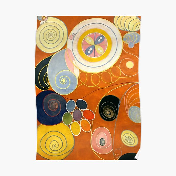 "Hilma af Klint ""The Ten Largest, No. 03, Youth, Group IV"" Poster"