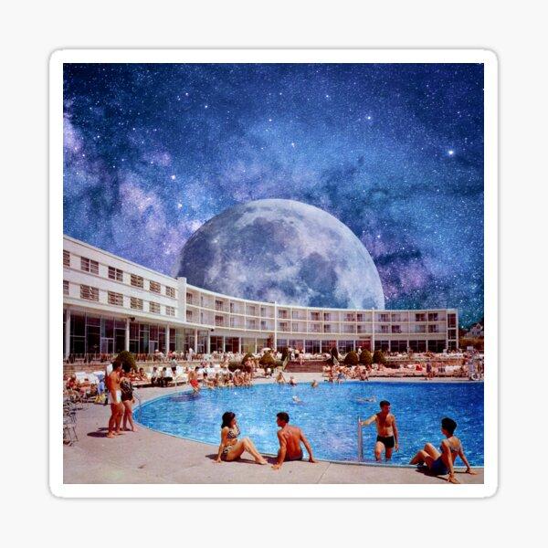 Summer in Space Sticker