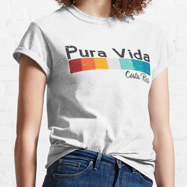Pura Vida Costa Rica - Vacation Summer Funny Design Classic T-Shirt