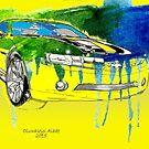 Bumblebee Transformers Cavarro Car by tqueen